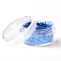 Glamour Blue - Superstar Chunky Mix - 8 ml