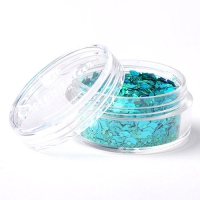 Laser Turquoise - Superstar Chunky Mix - 8 ml