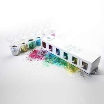 Biodegradable Chunky Glitter Mix 6-pack