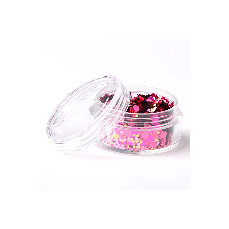 Crazy Pink Lady - Superstar Chunky Mix - 8 ml